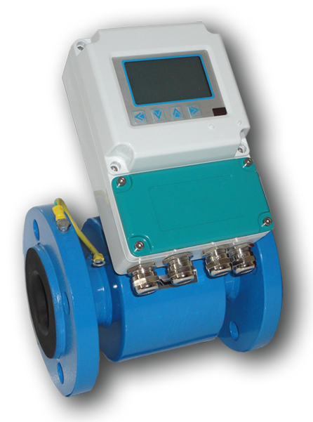 Remote monitor flow meter online